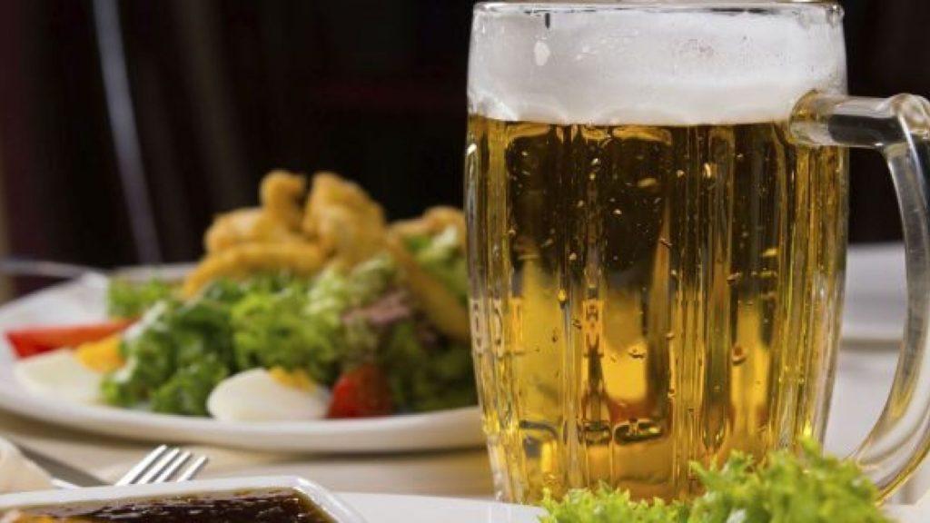 пиво на ужин